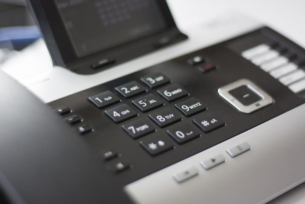 Linha telefônica do Home Office