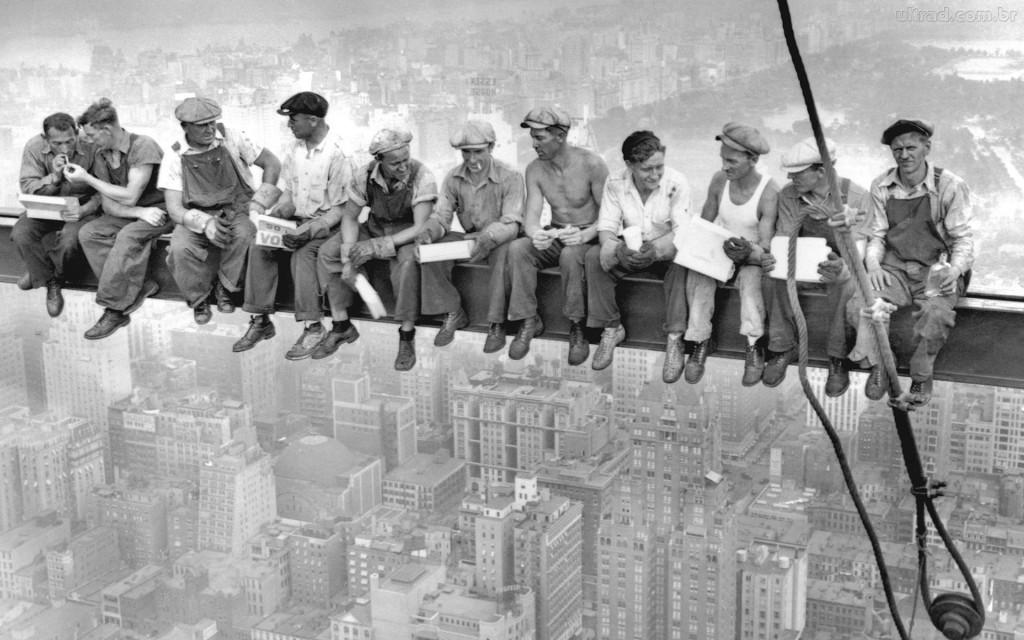 Trabalhadores em uma era de crescimento no país