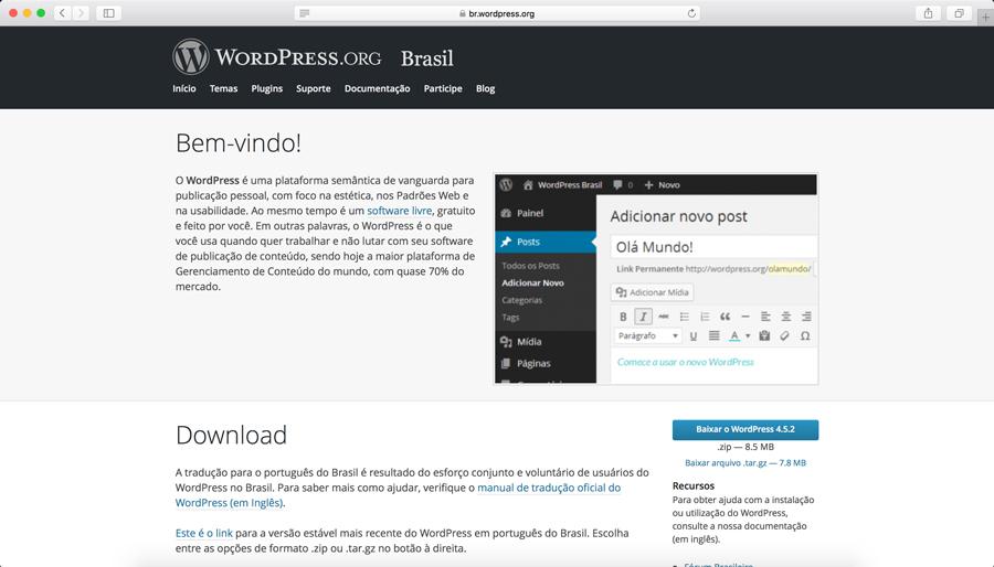 Como Instalar WordPress: Passo-a-passo para leigos