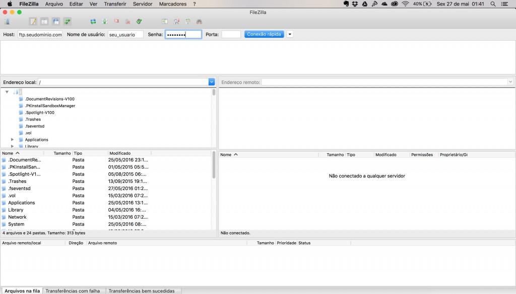 Programa FTP Filezilla: Como Instalar WordPressPrograma FTP Filezilla: Como Instalar WordPress
